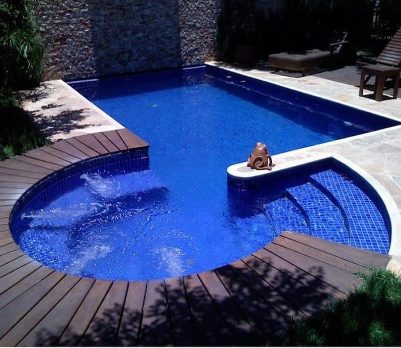 Piscina gresite forma 7x3 5 metros vaes piscinas for Gresite para piscinas