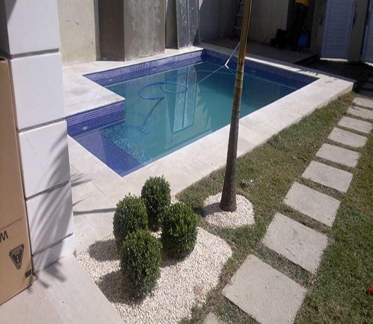 Piscina rectangular 6x3 metros vaes piscinas hormigon gresite - Precio construccion piscina 6x3 ...